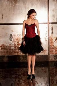 robe de cocktail avec jupe en tulle noire bustier rouge a With robe cocktail mariage avec bague homme mariage