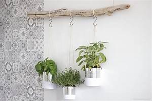 Suspension Pour Plante : diy concours cr ez votre jardin aromatique suspendu ~ Premium-room.com Idées de Décoration