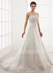 brautkleid princess a line princess sweetheart chapel organza wedding dress with embroidered lace beading