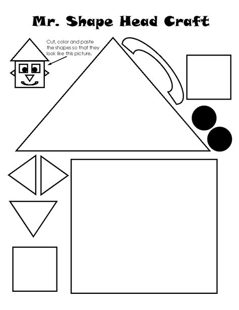shapes for preschoolers to cut out shapes for kindergarten printable shapes preschool 970