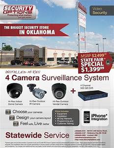 Home Security Camera System Layout