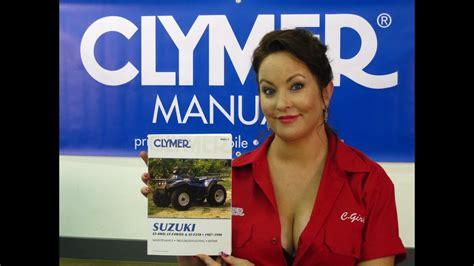 clymer manuals suzuki lt wd manual lt fwdx manual lt