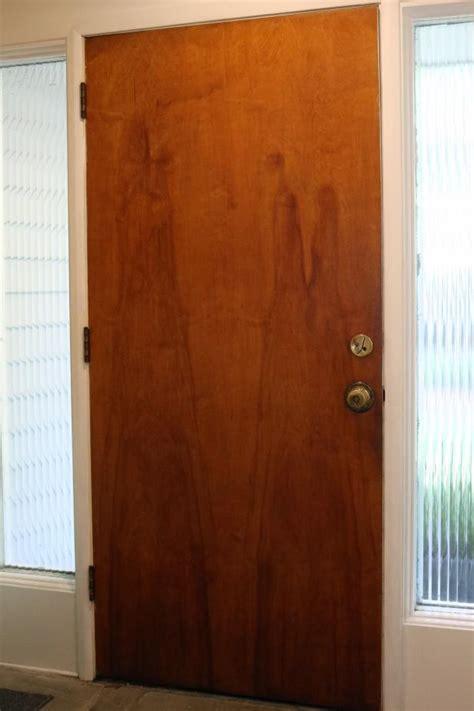 Cover Closet Doors by Update An Interior Door With Vinyl Adhesive Wallpaper