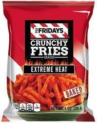 Tgi Fridays Crunchy Fries Extreme Heat or jalapeno peppers ...