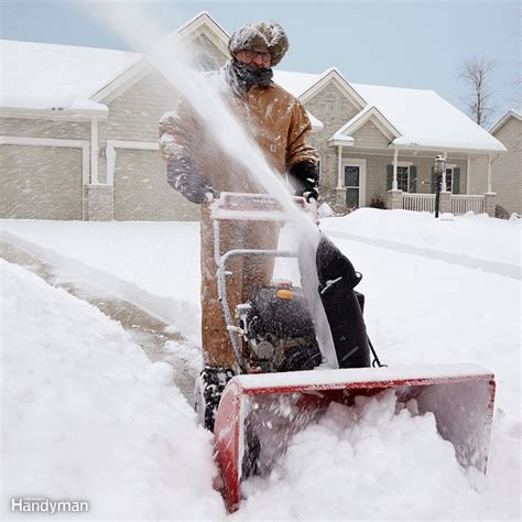snow blowing tips   snow removal quick  easy