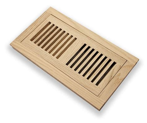 4x10 Wood Floor Registers by Grillworks Trimline Fwf 4x10 Ro Oak 4 Quot X 10 Quot Wood