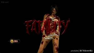 Mileena's 2nd fatality with Flesh Pit Outfit - YouTube