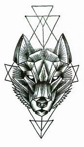 Tatouage Loup Graphique : tatouage ph m re loup tatouage temporaire loup be inked ~ Mglfilm.com Idées de Décoration