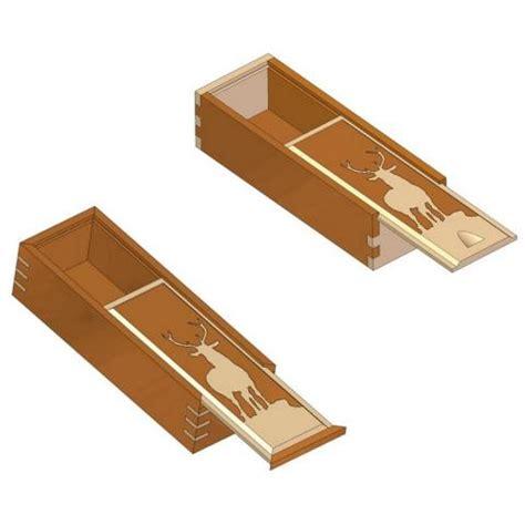 sliding lid box plan