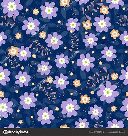 Spring Seamless Vector Floral Pattern Background Invitation