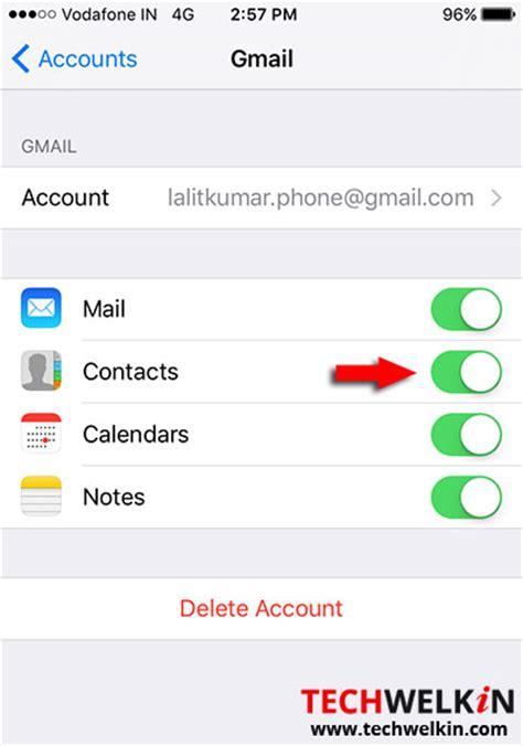 transfer gmail contacts to iphone how to sync iphone contacts with gmail account