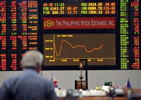 psei hits  high gaming stocks tumble  china