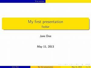 latex presentation tex latex stack exchange With tex presentation template
