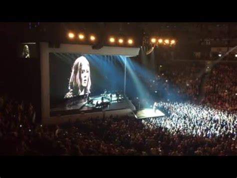 adele    night belfast youtube