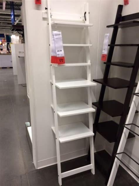 Leaning Bookshelf Ikea by 48 Ikea Leaning Ladder Shelves Clean Furniture White