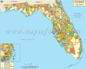 Florida Zip Code Map