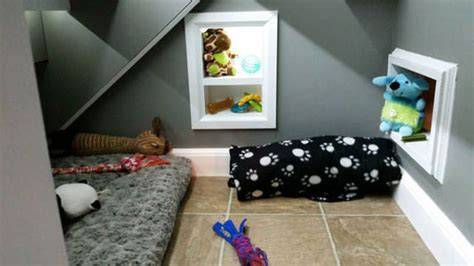 creative pet owner builds dog special room stairs pics izismilecom
