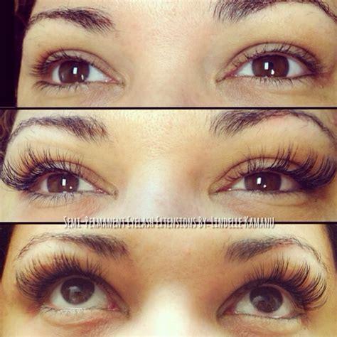 semi permanent eyelash extensions lokahi skin body