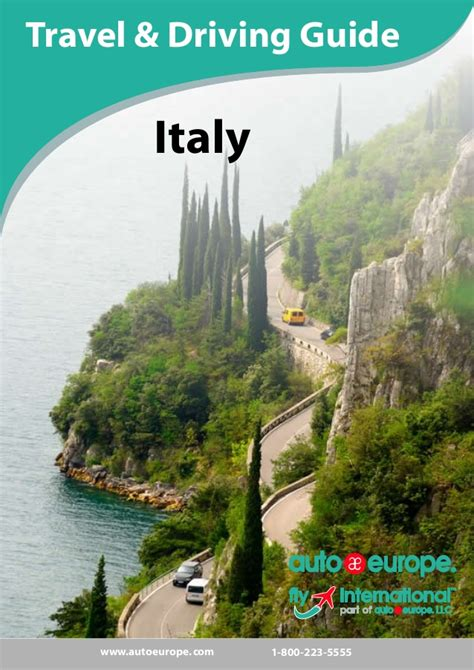travel bureau car auto europe travel driving guide for italy free