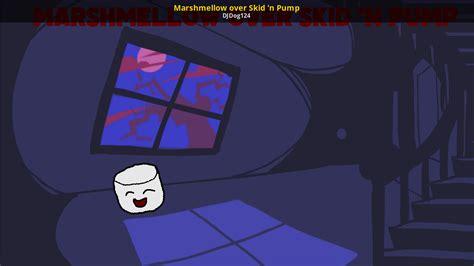 Marshmellow Over Skid N Pump Friday Night Funkin Skin