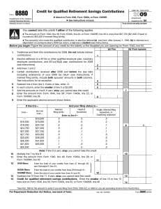 What Is an IRS Form 8880