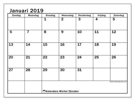kalenders januari zz michel zbinden nl