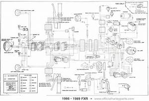 Fxr Wiring Diagram. 1985 fxrs front turn signals page 3 ... on