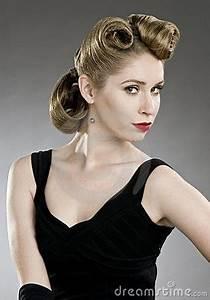 Coiffure Des Années 50 : coiffure des annee 50 femme coiffures modernes ~ Melissatoandfro.com Idées de Décoration