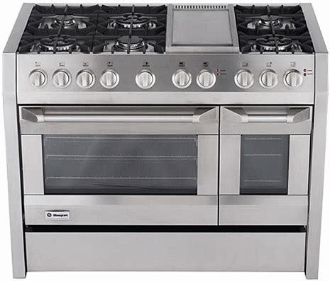 monogram  dual fuel cooker  ge appliances   europe