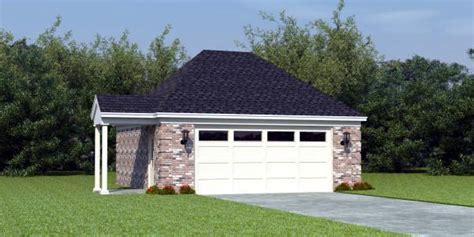 Garage Plan 46374 At Familyhomeplans.com