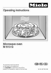 M 613 G Manuals