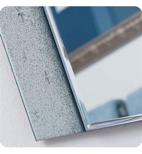 Frameless disco wall mirror 23.6hx31.5wx.5d. Decor Wonderland SSM5039-111 Starlight Frameless Wall Mirror