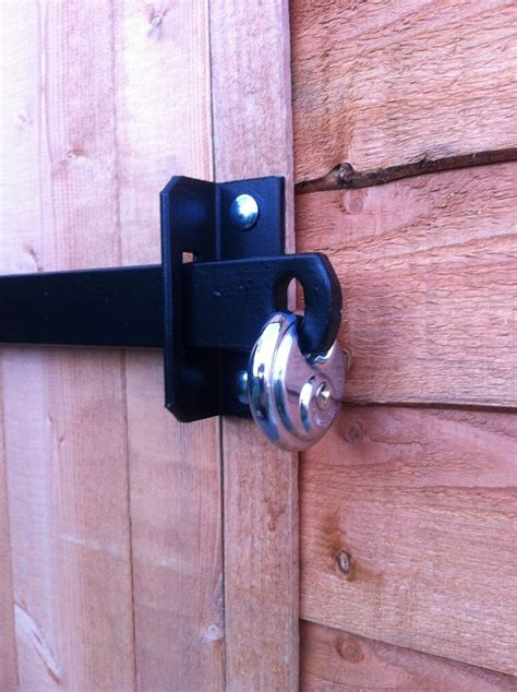 locks for shed doors metal shed lock bar stable garage office door