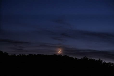 The Smiley Face Moon And Companions In The
