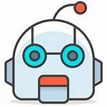 Robot Face Discord Bot Icon Emoji Clipart