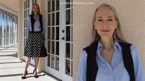 Classic Fashion Over 40over 50 How To Style A Midi Skirt