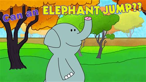 elephant jump zoo song animals learning elf songs toddlers poems fun walk children books