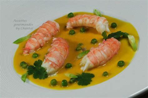 cuisine chantal recette langoustine william ledeuil