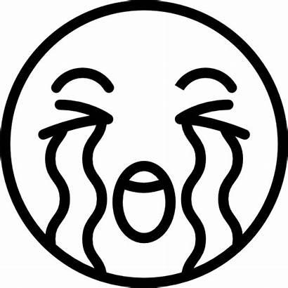 Emoji Coloring Smiley Crying Face Emoticon Emojis