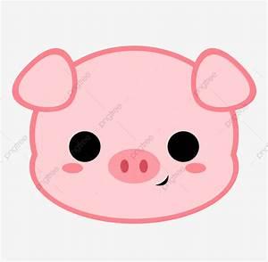 Cartoon Pig Head, Pig, Piggy, Animal PNG Transparent ...