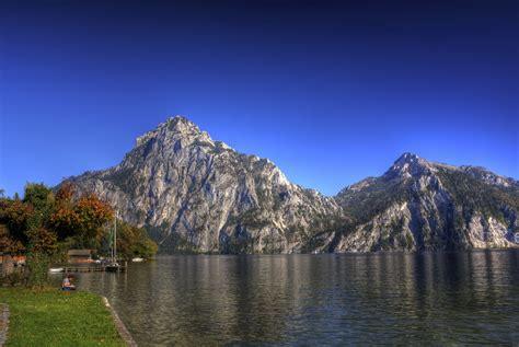 lake, Austria, Mountains, Landscape, Sky Wallpapers HD ...