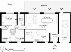 hd wallpapers plan maison rectangulaire plain pied 120m2 - Plan Maison Plain Pied 120m2