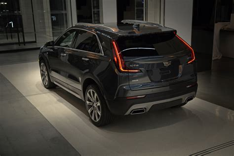 2019 Cadillac Xt4 Debuts With 18inch Alloy Wheels