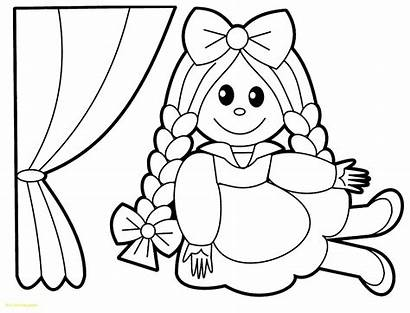 Doll Coloring Pages Getdrawings