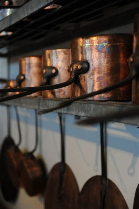 pin  brad von  ambercopperrusset  images copper pots copper kitchen copper