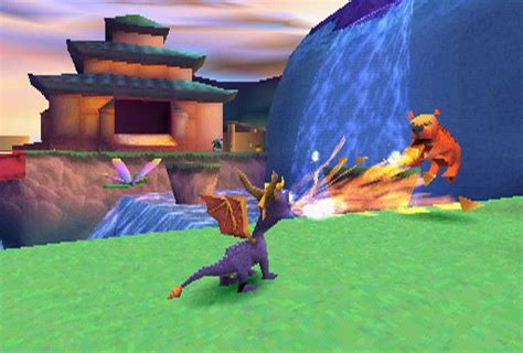 spyro  dragon  year   dragon  scus