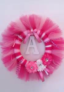Baby Shower Tulle Wreath