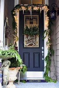 2013, Christmas, Front, Door, Entry, And, Porch, Roundup, Decorating, Ideas