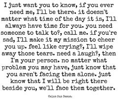 Im Always Here For You Love Quotes