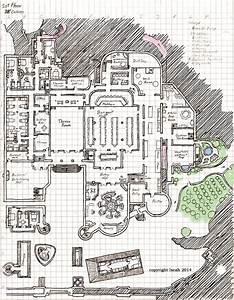 Pinnacle Castle 1st Floor Layout by KayIscah on DeviantArt